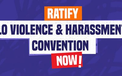 Urgent action needed to eliminate violence and harassment at work