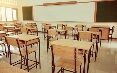 Outrageous: teachers' desks & chairs removed, no consultation