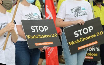 Member action prevents WorkChoices 2.0