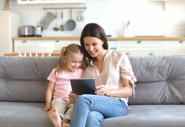 Connecting with families using social media