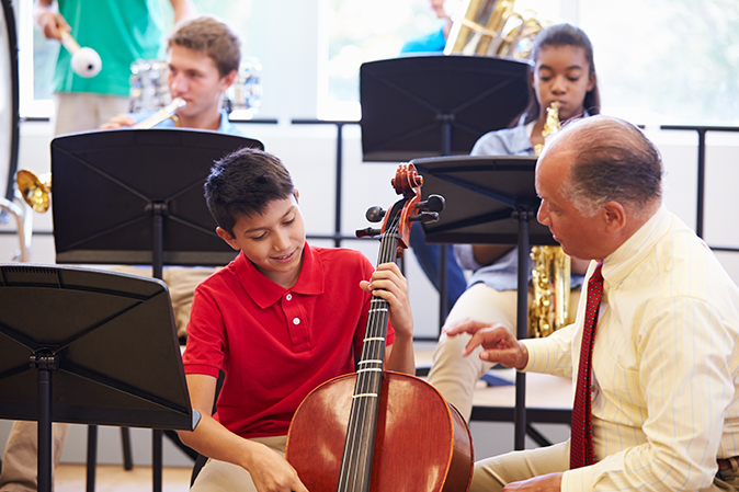 Instrumental music instructors denied recognition and respect
