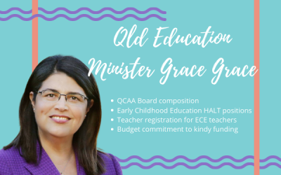 Meeting with QLD Education minister conveys members current concerns