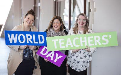 Time to #ThankQldTeachers this World Teachers' Day